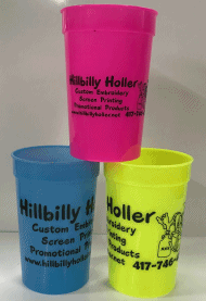 customized thermal temperature color changing plastic drinking cups